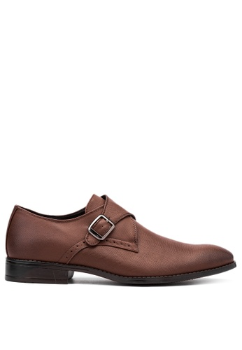 Mendrez brown Formal Shoes ME992SH17VWOPH_1