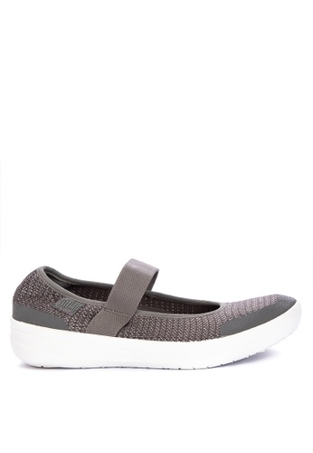 8d23b3b2067d5d Shop Fitflop Uberknit Mary Janes - Metallic Weave Online on ZALORA  Philippines