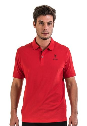 AMNIG red Amnig Men Basic Polo (Red) 2F257AAC9F6BDAGS_1