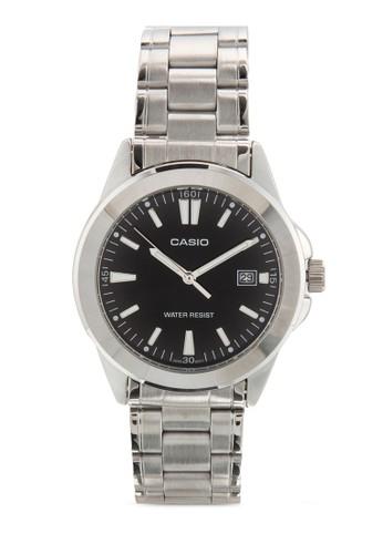 MTP-1215A-1A2DF 不銹鋼男士圓錶, 錶類, esprit台灣網頁飾品配件