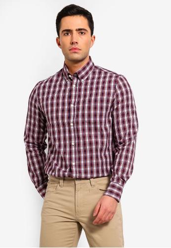 OVS 多色 Mens Formal 襯衫 With 長袖 F6C20AA88997C9GS_1