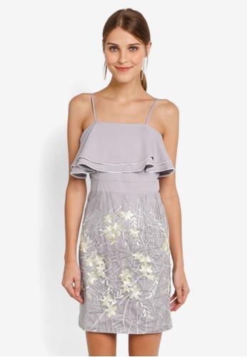 Megane grey Red Romance Candide Dress ME617AA0SLBEMY_1