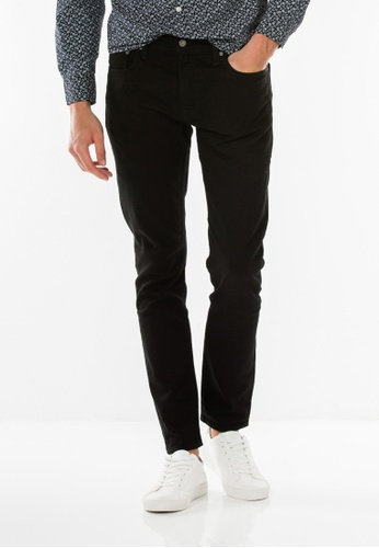 Levi's black Levi's 512 Slim Taper Fit Jeans LE815AA0RHYUMY_1