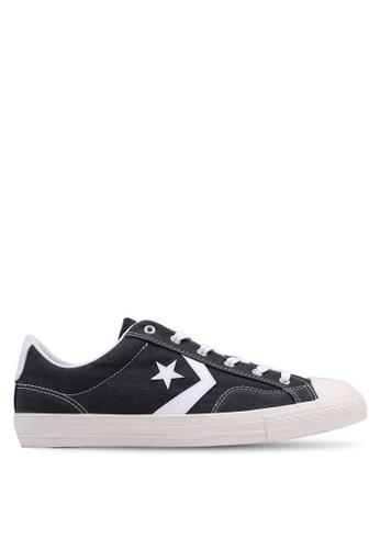 d4cbb91e284e09 Converse black Star Player Oxford Ox Sneakers 16EB2SHC87730FGS 1
