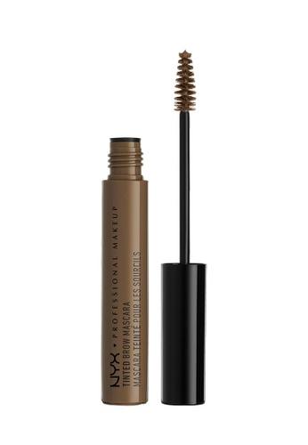 NYX Professional MakeUp brown NYX PROFESSIONAL MAKEUP Tinted Brow Mascara - Brunette 6269EBEEA4E54AGS_1