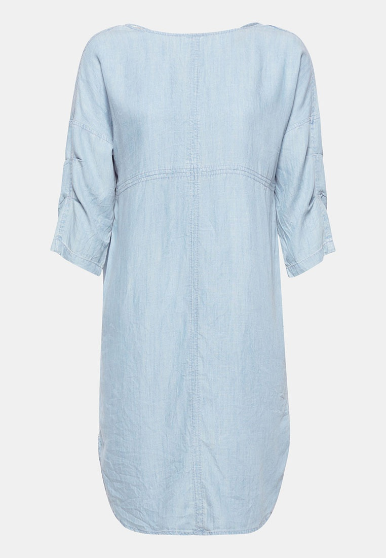 Midi Midi ESPRIT ESPRIT Denim Blue Midi Denim Blue Dress Dress Denim n0HqWnBAw6