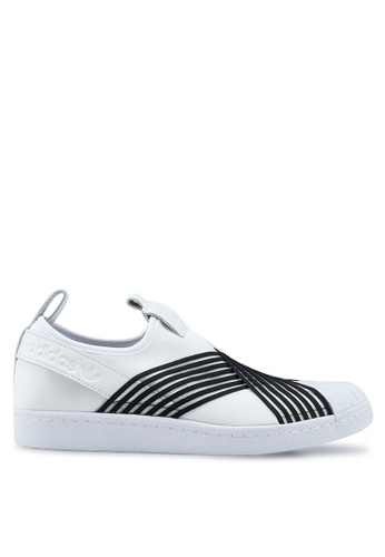 sale retailer ef1f1 43c05 adidas originals superstar slip on w