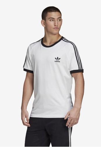 ADIDAS white 3-stripes tee 2B93EAA39B1F08GS_1