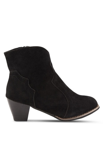 Sunnydaysweety black 2018 New Retro Ankle Boot RA101212BK 16E5BSH01CC791GS_1