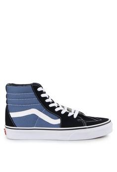 1cc8ba8e91 Vans black and blue Ua Sk8-Hi VA142SH0UEFOID 1