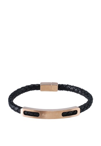 agnès b. gold Stainless Steel Bangle 58450ACFF7CAF0GS_1
