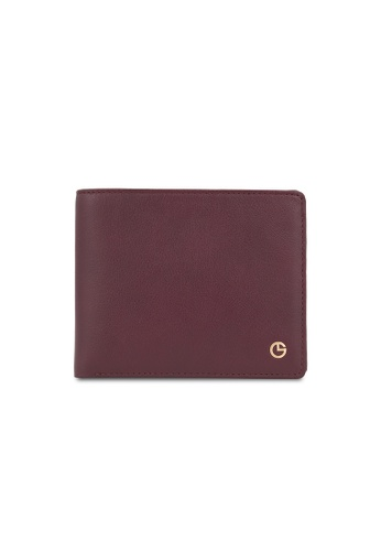 Goldlion red Soft Leather Wallet (Centre-flap & Coin Pouch) D9B34AC8E78B2CGS_1
