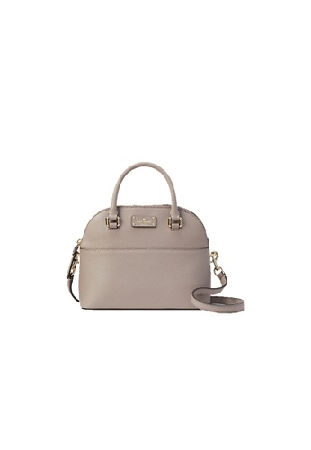 online fast delivery Official Website Kate Spade Grove Street Mini Carli Leather Crossbody Bag Cityscape