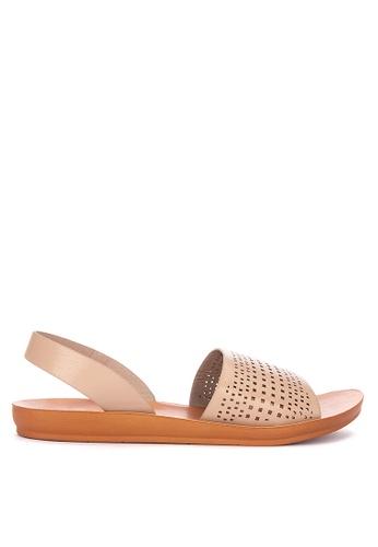 CLN brown Zoya Slingback Sandals DD2DBSHF481783GS_1
