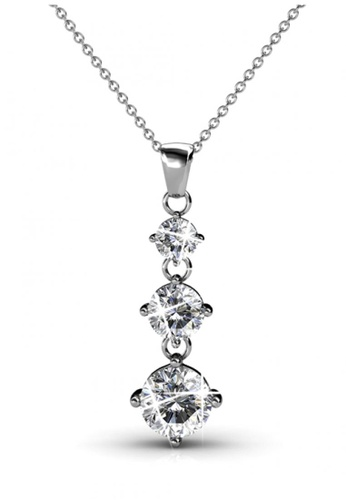 Her Jewellery silver Her Jewellery Elise Pendant with Necklace Chain with 18K Gold Plated 4D165AC5A64222GS_1