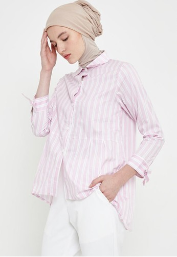 MFMW pink MFMW Suhana Kemeja Pink 2F77BAA474A1D8GS_1
