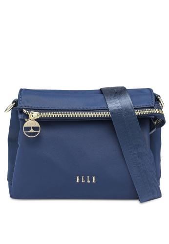 ELLE 海軍藍色 ELLE Elisse Sling Bag 02C24AC789986AGS_1