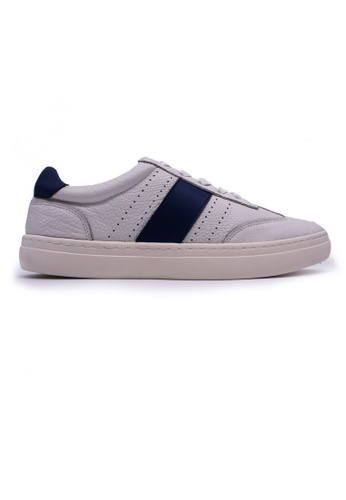 Rad Russel white and blue Rad Russel Sneakers - Blue 45AD3SHB41D730GS_1