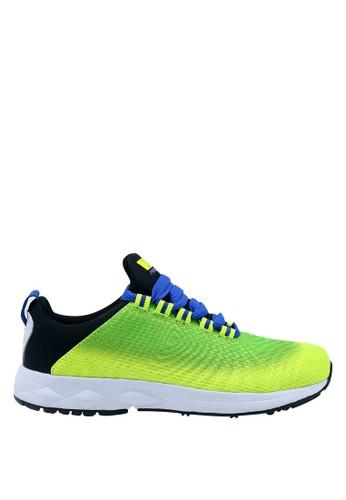 Precise green Precise Dexter JT Sepatu Pria - Green FL / R.Blue CB212SH06579CCGS_1