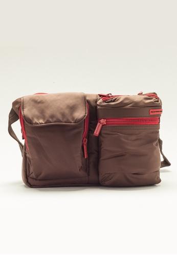 Stylesource brown Travel Waist Bag ST896AC26YSFPH_1