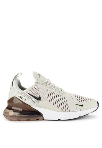 Nike beige Nike Air Max 270 Running Shoes E1DB9SH6BDDFA4GS_1