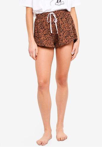 Cotton On Body brown Jersey Shorts 1FACFAA62EB72FGS_1
