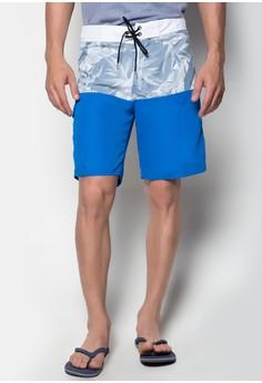 Beach Shorts Floral + Plain