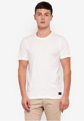 Flesh IMP 白色 品牌刺繡T恤 DBCFEAA5C42E8BGS_1