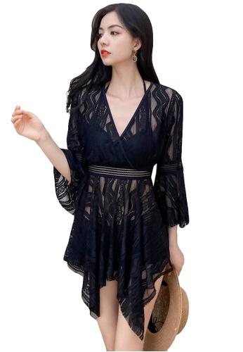 A-IN GIRLS black (3PCS) Sexy Lace Bikini Swimsuit 99932US6CA34DDGS_1