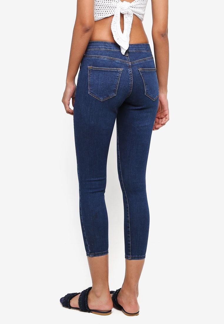 Indigo Jeans TOPSHOP Petite Sidney Moto ICxIq7BwF
