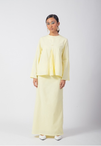 SUEKA SUEKA Adorbs Kurung Set in Lemonade from SUEKA SUEKA in Yellow