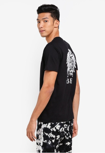 OBEY black Obey Broken Eagle Tee 3187FAAB901A00GS_1