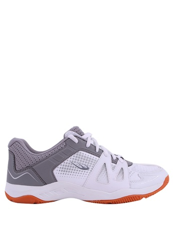 World Balance grey and white Deuce Court Mens Sports Shoes B263ESH00654FDGS_1