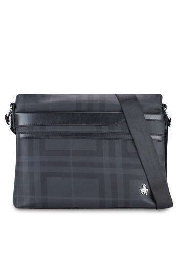 Swiss Polo black Swiss Polo Messenger Bag SW912AC25XFEMY_1