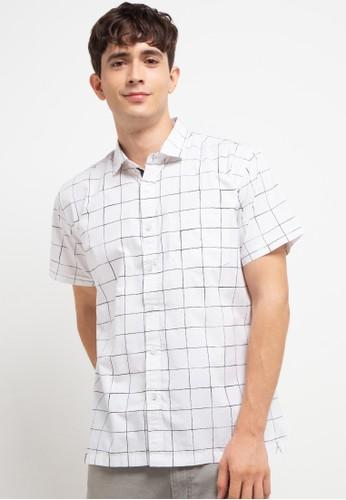 Ocean Pacific white Men'S Shirt Short B6897AABA5E46FGS_1