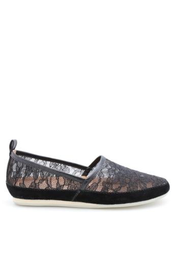PRODUIT PARFAIT 黑色 蕾絲平底鞋 956BBSHF87D8D0GS_1