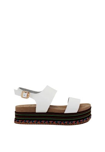 London Rag white London Rag Womens Sandals SH1376 LO704SH2UP07HK_1
