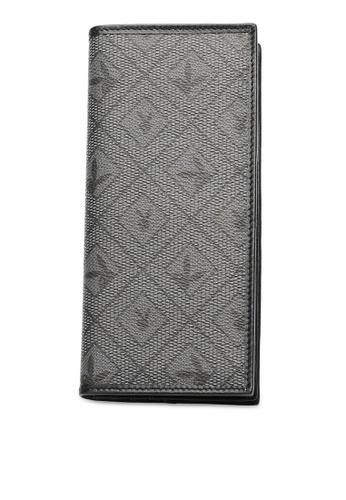 Playboy grey RFID Blocking Long Wallet BBDBBAC158766AGS_1