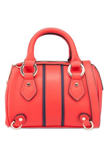 744627a75cb9 Buy TOPSHOP Stripe Mini Bowler Bag Online on ZALORA Singapore