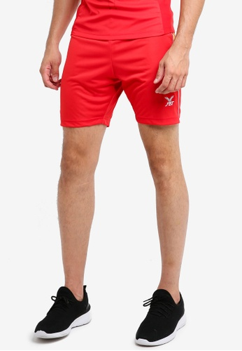 FBT red and gold Sports Shorts ECF9DAA6C7ABE5GS_1
