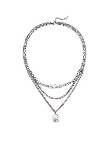 HAPPY FRIDAYS Pearl Angel Multilayer Necklace DWX0899 0C2F3AC7B2A6CFGS_1