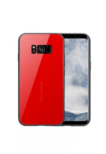 MobileHub red Xundd Mirror Series Case For Samsung Galaxy S8 13CF1ACC36D0EFGS_1