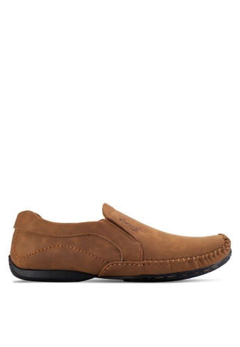 Louis Cuppers brown Casual Slip Ons LO977SH63AVWMY_1