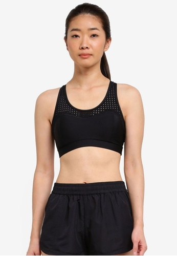 Running Bare black Action Back Sports Bra With Cup A828AUS6E591FCGS_1
