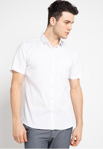 Manzone navy PIXIE-BESTBUY 1-WHITE Shirt AD3DBAA6416BB3GS_1