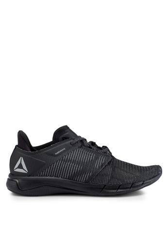 Reebok 黑色 and 灰色 編織慢跑鞋 40E70SHB76951FGS_1