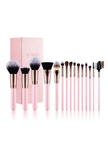 Sixplus 15pcs Romantic Pink