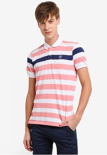 REGATTA white and multi Striped Polo Shirt RE699AA0RUPUMY_1