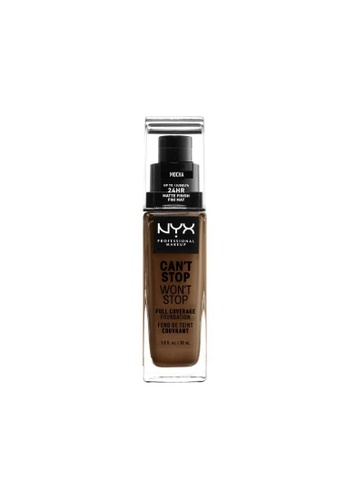 NYX Professional Makeup brown NYX Professional Makeup Can't Stop Won't Stop 24HR Foundation - MOCHA 1FAD0BE86BE8A6GS_1