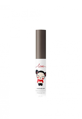 Pucca grey and brown Love Edition Eyebrow Cara #03 Gray Brown PU312BE94SAZSG_1